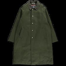 J.Press                                            Duck Balmacaan Coat - Khaki