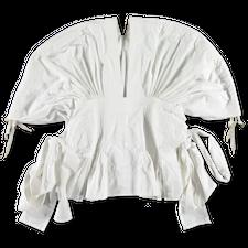 Main Nué                                           Apron Top - White