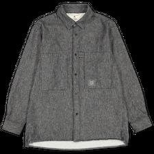 Snow Peak Camping Flannel Utility Shirt - Black