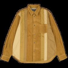 Comme des Garçons Homme                            Mixed Corduroy Overshirt - Camel