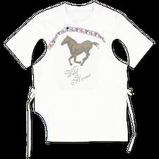Main Nué                                           Wild horses t-shirt 1 - White