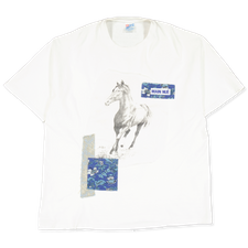 Main Nué                                           Wild horses t-shirt 2 - White