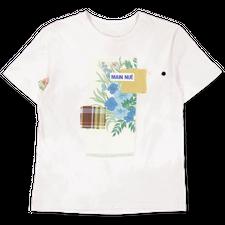 Main Nué                                           Collage t-shirt 3 - White
