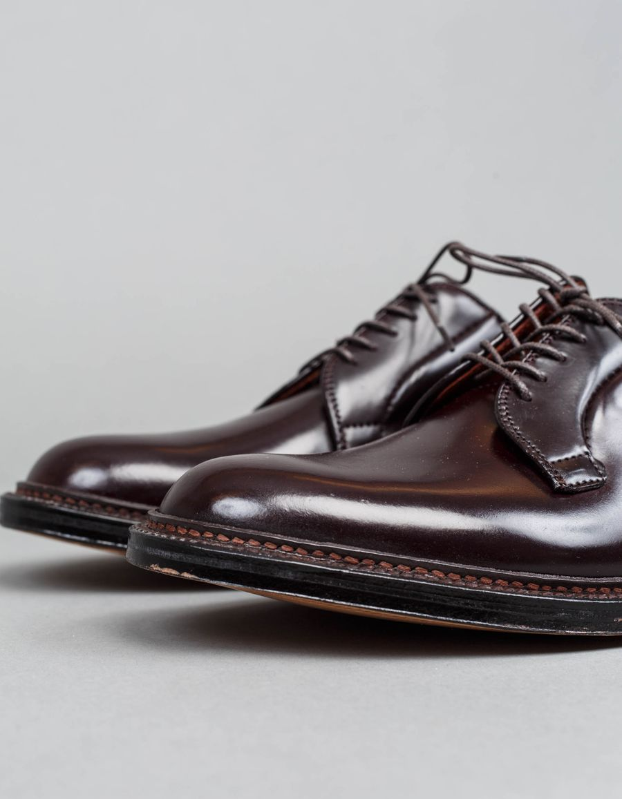 990 Cordovan Derby Blucher Burgundy