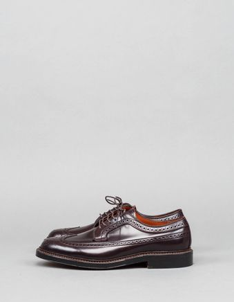 Cordovan Long Wing Brouge Burgundy