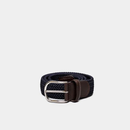 Chrome B Strech Belt Navy