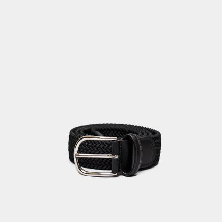 Chrome B Strech Belt Black