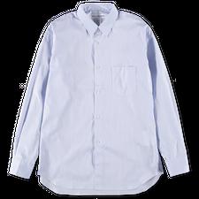 Comme des Garçons SHIRT Forever Narrow Classic Stripe Shirt Blue - Blue