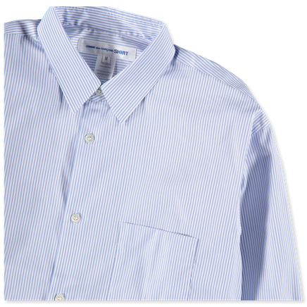 Forever Narrow Classic Stripe Shirt Blue