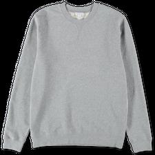 Sunspel Basic Sweatshirt Grey  - Grey