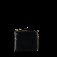 Comme des Garçons Wallet Half Zip Wallet Black - Black