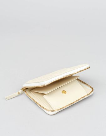 Full Zip Classic Wallet -Stars Offwhite