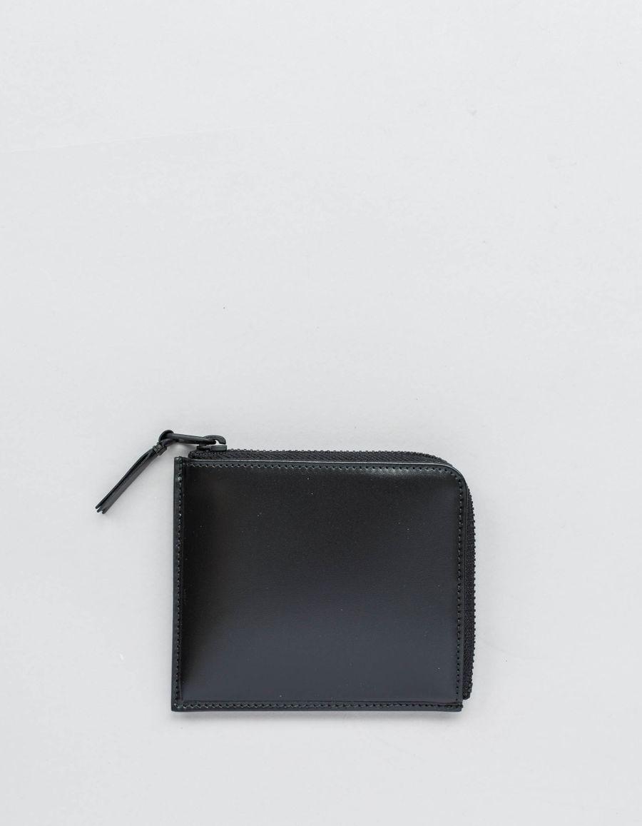 Half Zip Wallet VB Black