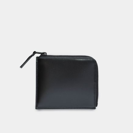 Half Zip Wallet VB Black