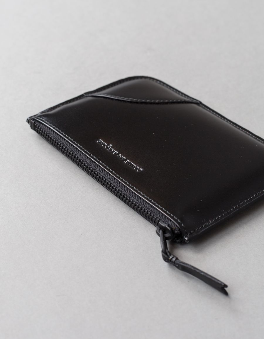 Rounded Zip Case VB Black
