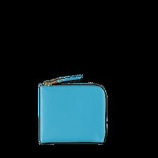 Comme des Garçons Wallet Half Zip Wallet Blue - Blue