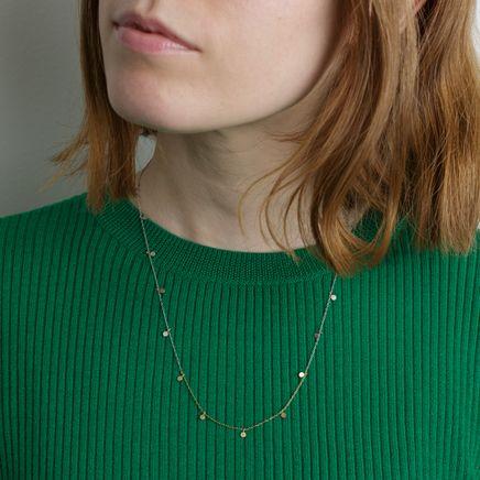 18k Gradient Big Dots Necklace