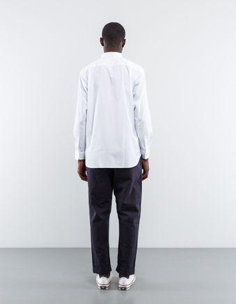 Narrow Classic Poplin Shirt White