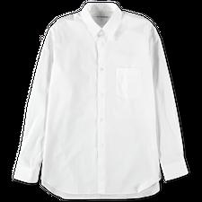 Comme des Garçons SHIRT Narrow Classic Poplin Shirt White - White