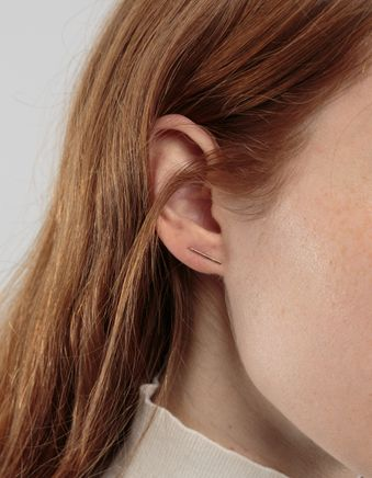 Nagy Stud Earring 14k