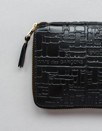 Full Zip Wallet - Logo Black