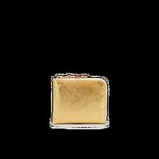 Comme des Garçons Wallet Half Zip Wallet - Gold