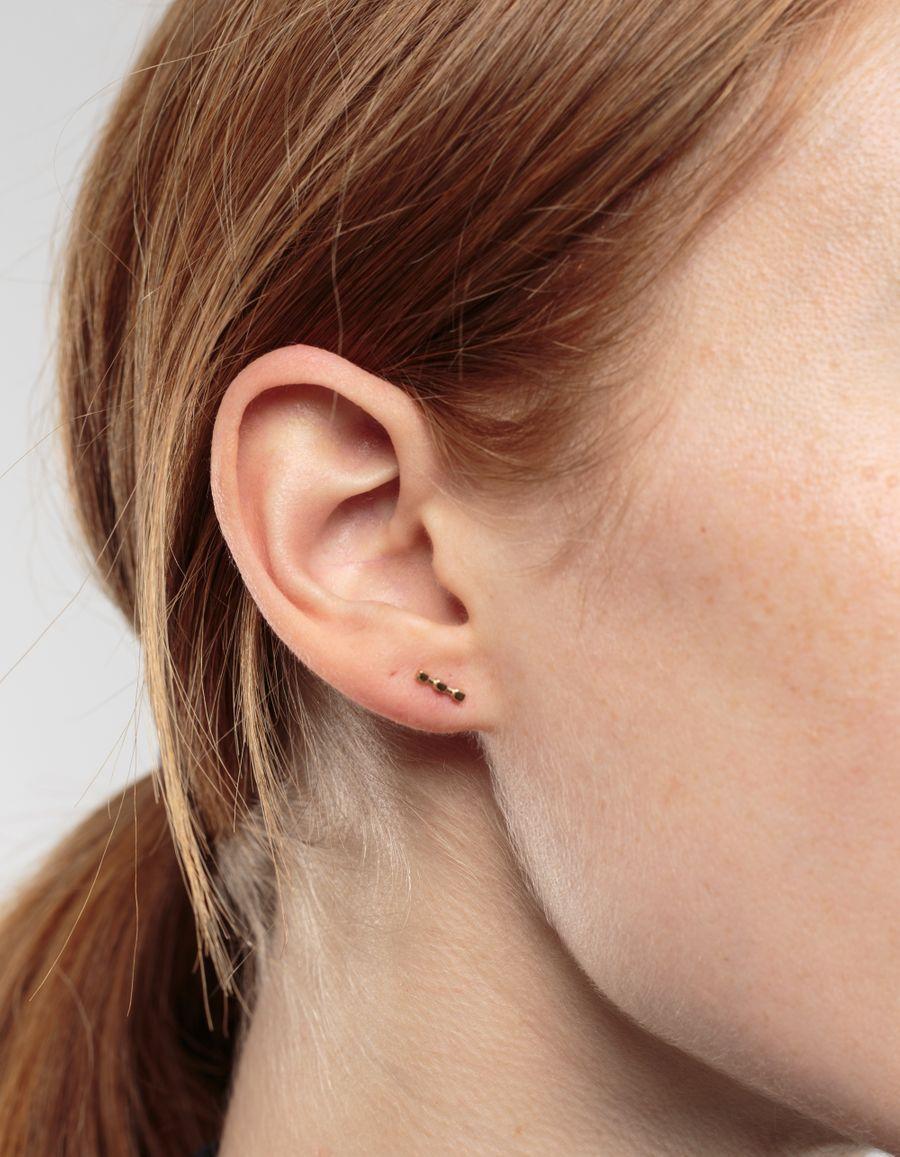 Andre Stud Earring 14k gold